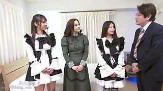 ginebra bellucci-gothic maid interracial orgy