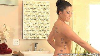 Fabulous pornstar London Keyes in Amazing HD, Massage adult scene