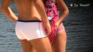 Hot beach voyeur vids filmed with a hidden camera.