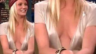 Cameron Diaz HQ Nipple Study