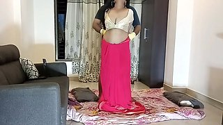 Karisma - S3 E4 - Busty Indian Housewife in Saree fucked by Burglar