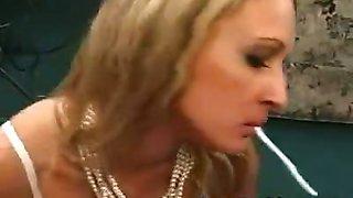 Torrid Smoking BJ from Lana