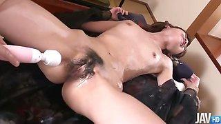 Sexy secretary Kanon Hanai used as the main focus of a