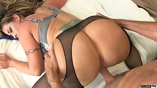 Stunning milf in glasses Eva Notty gives her head and rides a dick like a wild bitch