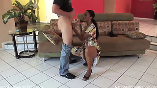 Ebony Mommy Is Really Horny for some action