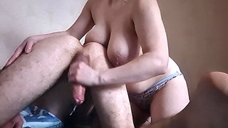 OMG!!! Wife wants to stick her hand in her man's ass