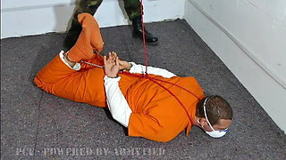 PCF10: jail roleplay: russian prison, NYPD police, hogtie