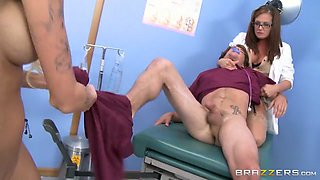 CFNM: Peeping Nurse Learns a Lesson. Rikki Six, Tory Lane, Tyler Nixon