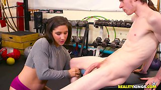 Abella Danger & Conor Coxxx in Best Workout Ever - RealityKings