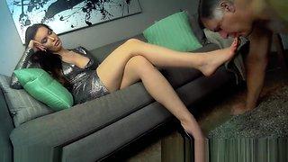 femdom feet fetish slave