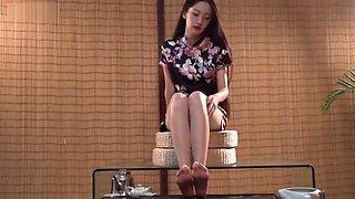 ligui tea and feet