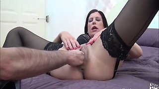 German milf fucked, fisted and SQUIRTING!