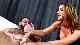 TRANSEROTICA MILF Tbabe Marissa Minx Fed Cum After Foot Fuck