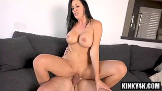 Hot mom seduction with cumshot