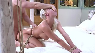 Naughty student roughly bangs dean's blonde wife London River
