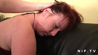 BBW mom hard anal pounded and double fist fucked in FFM