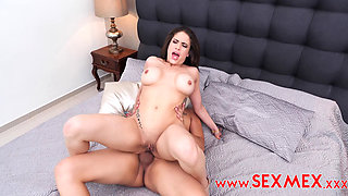 Sexmex hot spanish milf fucked hard in the ass
