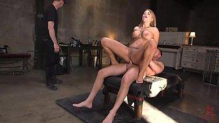 slave training with hard anal