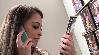 Riley Reid cheats on her bf with BBC - Gloryhole