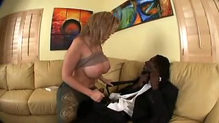 MILF - Sara Jay gets fucked and a hot facial by a BBC