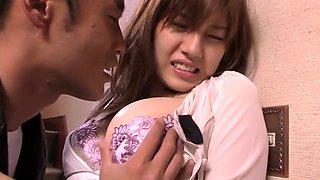 Crazy Japanese girl in Amazing Wife JAV scene