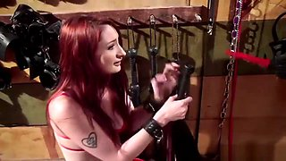 Xxx Red Hottie Gets Dominated By Her Mistress