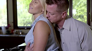 Romantic sex session with stunning blonde Vanessa Cage