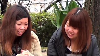 Japanese babes spied on