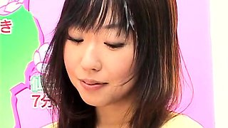 Beautiful Japanese ladies getting covered in fresh sperm