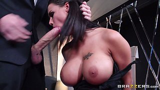 Her bald pussy needs to feel a hard cock right about now!!!!