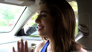 British dad and pal' compeer's daughter first time Driving L