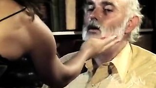 Lisa Bright, Damien Cashmere, Jon Dough in retro porn slut