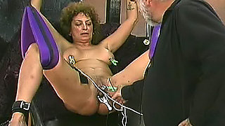 Mature women abused in dungeon