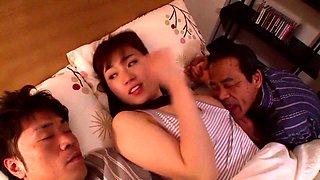 Crazy Japanese chick Azusa Nagasawa in Exotic bathroom, big tits JAV scene