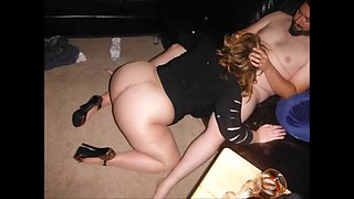 wife minidress hose heels and her other married luvr j