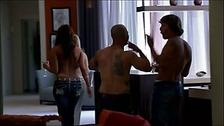 Four single swingers share the playboy mansion for the