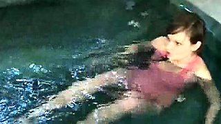 Fucked in the pool