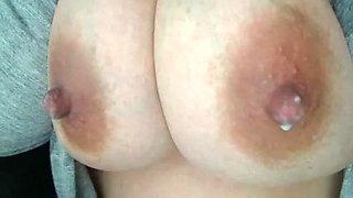 Huge and nice milk boobs