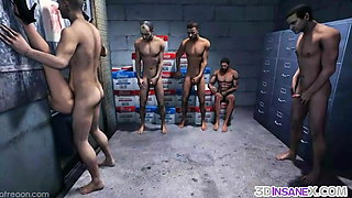 Sexy game heroes fucked raw by big dicks