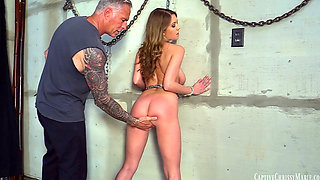 Chrissy Is Kidnapped and Turned Into Bondage Model by Madman