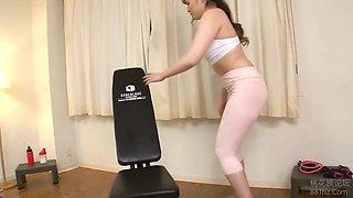 Japanese Milf Fucked While Exercising In The Gym - Makoto Takeda