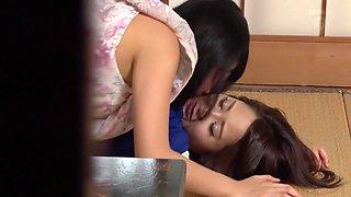 Amazing Japanese slut Mao Hamasaki, Misa Kudo in Crazy compilation, lesbian JAV movie