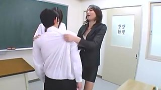 Exotic JAV censored xxx video with horny japanese models