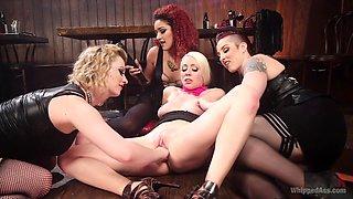 Best anal, fisting xxx movie with amazing pornstars Daisy Ducati, Mistress Kara and Cherry Torn from Whippedass