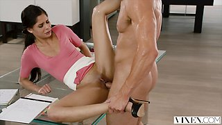 VIXEN Bad Intern Begs To Be Punished By Her Boss