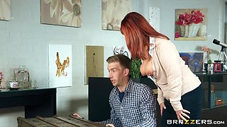 Beau Diamond & Danny D in Antique Road Blow - BRAZZERS
