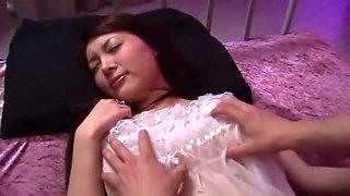 Incredible Japanese chick Mai Izuki in Amazing Handjobs, Big Tits JAV video