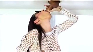 Glamour Masseuse In Glasses Fucked Hard On Massage Table