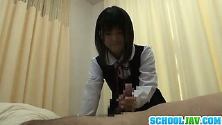 Asian schoolgirl visits male friend in hospital for a