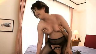 Pantyhose hardcore along steamy mom